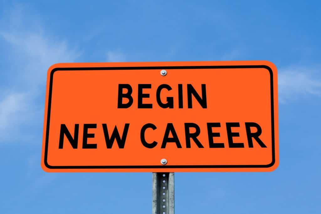Career Step Up Career Change at 40